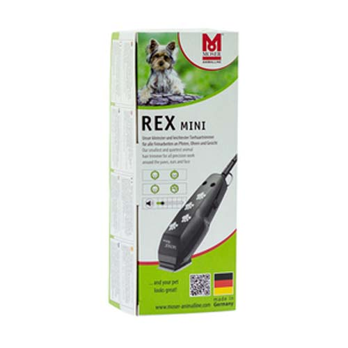 MOSER REX Mini 220-240V 50Hz, 2m kábel