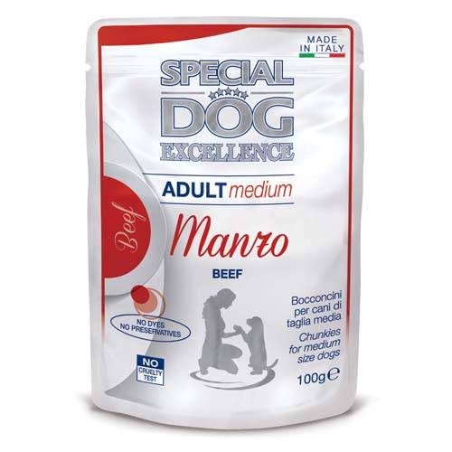 MONGE SPECIAL DOG EXCELLENCE  MEDIUM Adult marha 100g alutasak