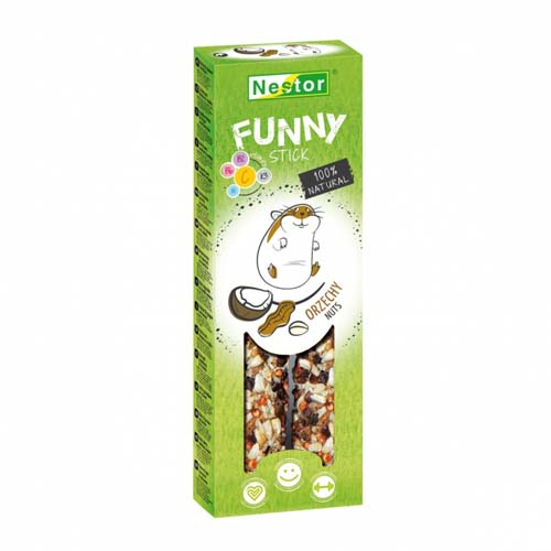NESTOR FUNNY STICK rodents nuts 2pcs 115g