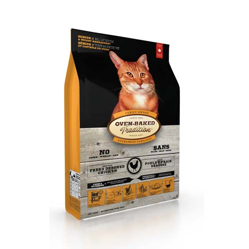 OBT Oven-Baked Tradition Cat Senior Chicken 2,27 kg