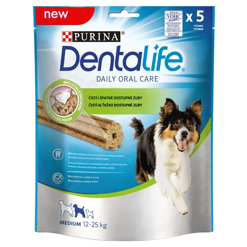PURINA DENTALIFE MEDIUM 115g