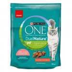 PURINA ONE Dual Nature Sterilized lazaccal és spirulinával 750g