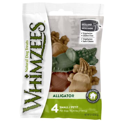 WHIMZEES Flow Wrap Alligator S 6,9cm / 15g 4db