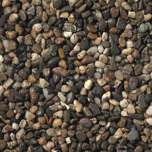 EBI Aquarium-soil GRAVEL (dark) 3-6mm 5kg
