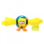EBI COOCKOO DOG TOY THUNDER  GIANT 10X55CM, YELLOW