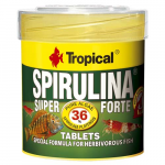 TROPICAL Super Spirulina Forte Tablets 50ml/36g 80db haltáp spirulinával
