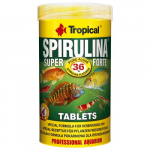 TROPICAL Super Spirulina Forte Tablets 250ml/150g 340db haltáp spirulinával