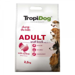 TropiDog Premium Adult Small 2,5kg pulyka rizzsel