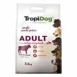 TropiDog Premium Adult Medium & Large marha rizzsel 2,5 kg