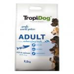 TropiDog Premium Adult Medium & Large 2,5kg lazac