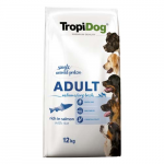 TropiDog Premium Adult Medium & Large 12kg lazac