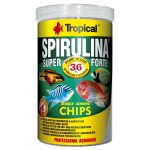 TROPICAL Super Spirulina Forte Chips 250ml/130g tablettázott haltáp spirulinával
