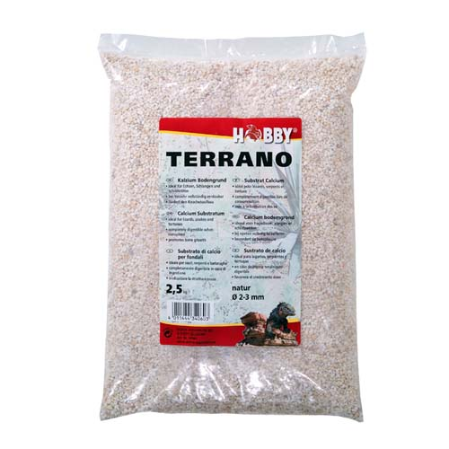 HOBBY Terrano Calcium Substrat Natural 2-3mm 2,5kg